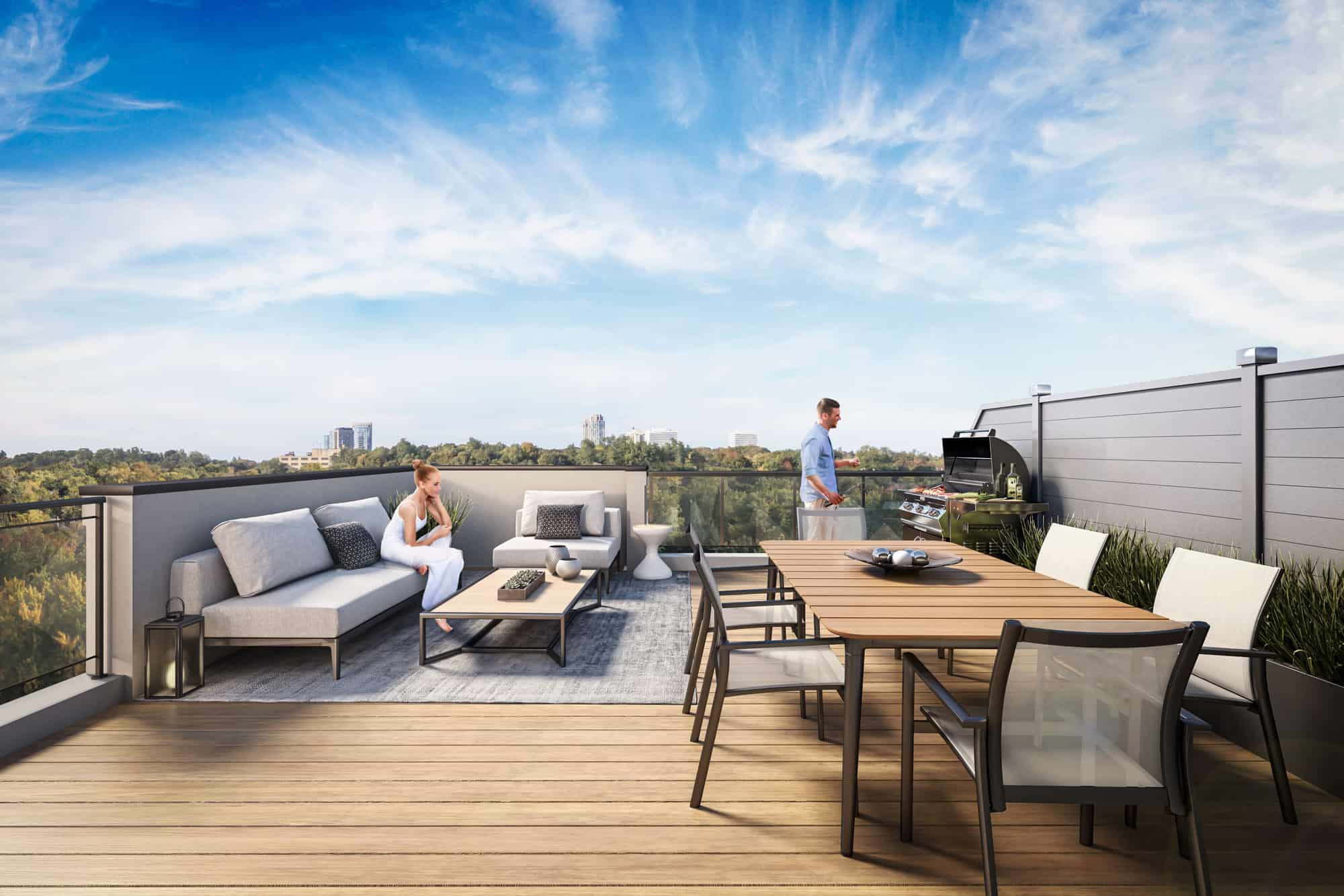 Image: Rendering Of Rooftop Terrace